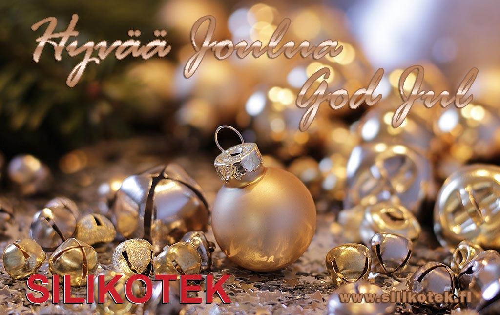 Oikein Hyvää ja Rauhallista Joulua!