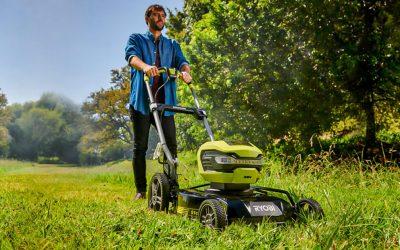 Heitä hyvästit polttomoottorille, leikkaa nurmikko tehokkaalla Bioleikkaavalla Akkuruohonleikkurilla